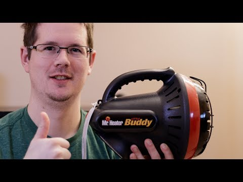 """Hunting Heater – Mr  Heater """"Little Buddy"""" Portable Propane Review"""