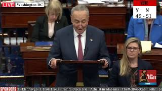 Chuck Schumer SPANKED by Chief Justice John Roberts at senate Impeachment Trial