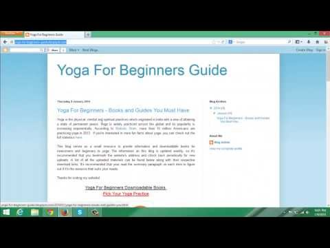 Yoga For Beginners - Free Books That You Must Download Right Now