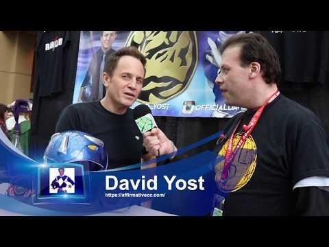 Emerald City Comic Con, David Yost Billy, the Blue Ranger Interview Seattle