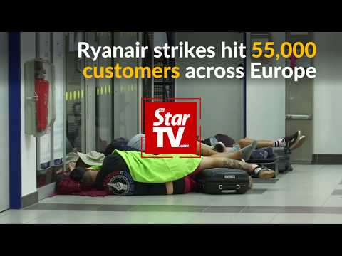 Ryanair in biggest ever one-day strike