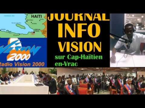 Journal Info Vision Samedi  25 Mars  2017 sur CAP-HAITIEN EN-VRAC