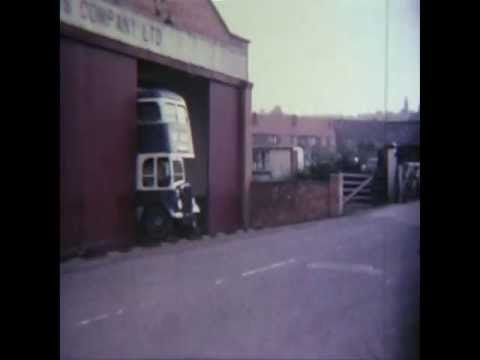 THE MIDLAND GENERAL / NOTTS & DERBY BUS GARAGE AT LANGLEY MILL IN DERBYSHIRE