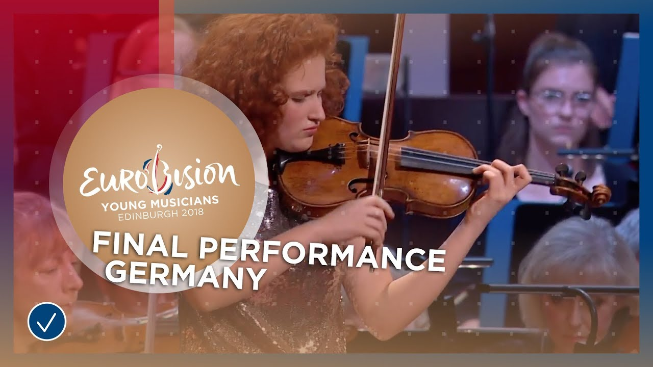 Mira Foron - Germany - Final Performance - Eurovision Young Musicians 2018