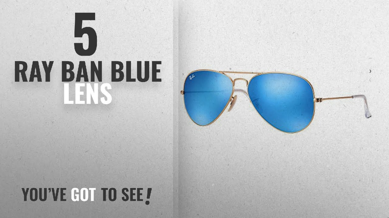 f5360fc207 Top 10 Ray Ban Blue Lens   Winter 2018    Ray Ban - RB3025 112 17 ...