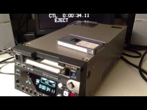 Panasonic AJ-SD255 DVCPro DV DVCAM VCR AS NEW