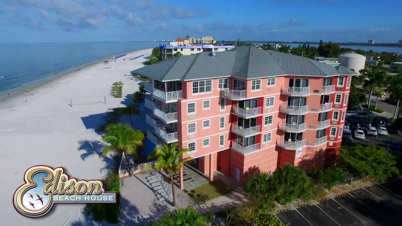Edison Beach House All Suite Hotel On Ft Myers Beach YouTube - Edison car show ft myers