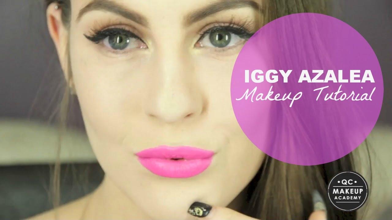 QC Makeup Academy - Iggy Azalea Makeup Tutorial