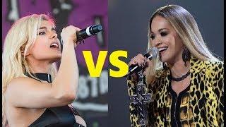 Bebe Rexha Vs Rita Ora - (Live Vocals Battle)