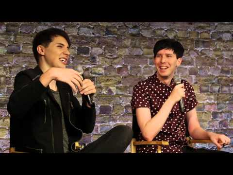 Dan and Phil Interview with Caitlin Moran about The Amazing Book Is Not on Fire