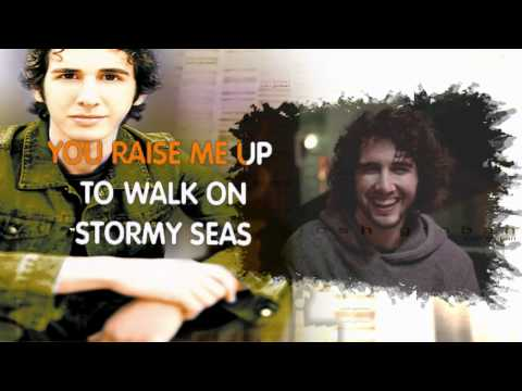 Josh Groban - You Raise Me Up (karaoke) instrumental with Lyrics