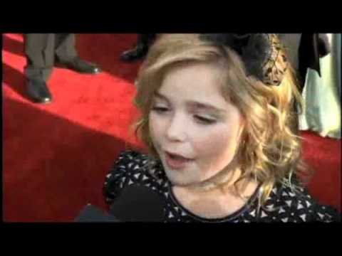 Kiernan Shipka 2008 Screen Actors Guild Awards Interview