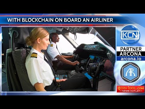 With blockchain on board an airliner