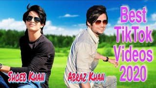 Shoeb Khan Best TikTok Videos with Abraz Khan After Lockdown | Abraz And Shoeb Tik Tok Video