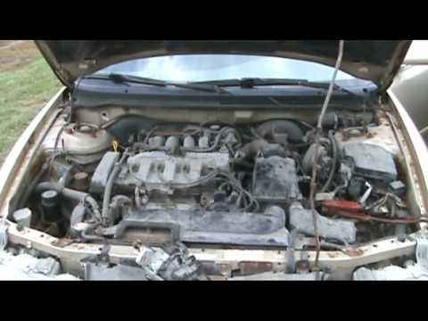 Ford 3 0 V6 Engine Firing Diagram Mazda 626 Distributer Replacement Youtube