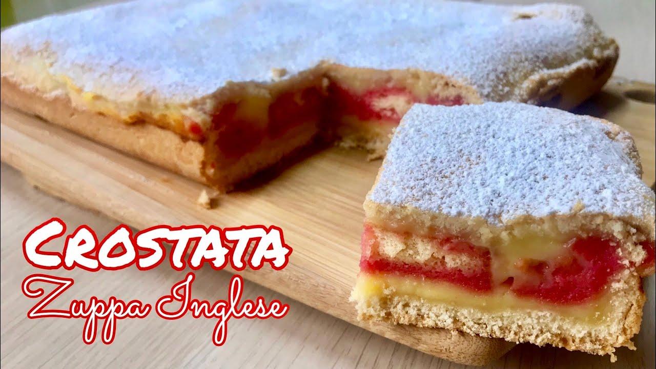 Ricetta Zuppa Inglese Fatto In Casa Da Benedetta.Crostata Zuppa Inglese Ricetta Semplice English Zuppa Cake Tutti A Tavola Youtube