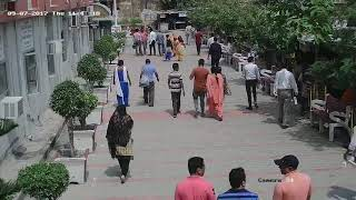 Live attack in Ambala court