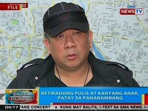 BP: Retiradong pulis at kanyang anak, patay sa pananambang sa Mandaluyong