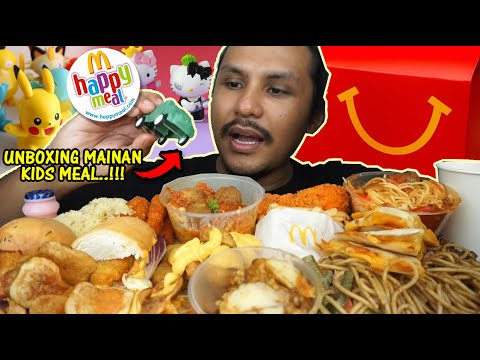 beli HAPPY MEAL mahal-mahal dapat mainan ni je? (mukbang malaysia) MCDONALDS MANHATTAN FISH MARKET