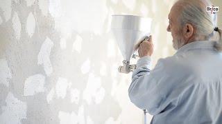 Enduire facilement du ciment avant peinture - Tuto bricolage avec Robert  pour enduire un mur