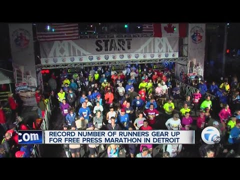 Record number of runners preparing for Free Press marathon