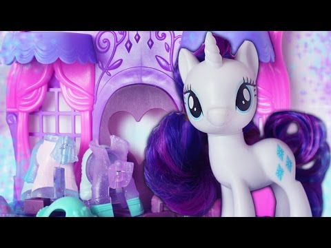 NEW RARE MLP Rarity Fashion Runway Toy to 2017 Review !   Alice LPS
