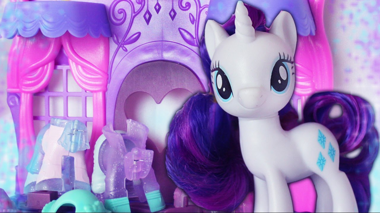 New Rare Mlp Rarity Fashion Runway Toy To 2017 Review Alice Lps Youtube