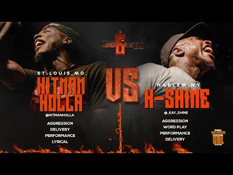 HITMAN HOLLA VS K-SHINE SMACK/ URL RAP BATTLE