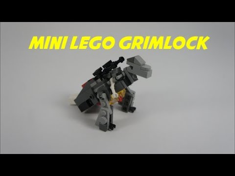 how to make a lego grimlock