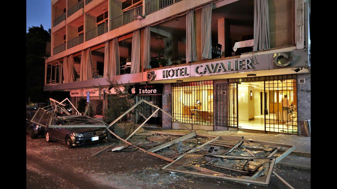 Взрыв в Ливане Бейрут