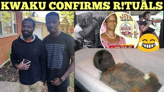 KWAKU MANU EXPOSES SECRET KUMAWOOD MOTHER R!TUALS for SIKA BEFORE EVANGELIST ADDAI @ ADDAIVILLE