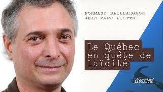 Normand Baillargeon sur la Charte des valeurs québécoises 1 de 2