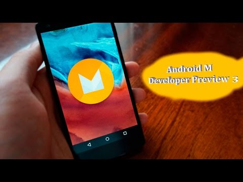 обзор Android 6.0/Android M Developer Preview 3 (Nexus 5)
