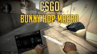 CSGO: How to Make a Bunny Hop Macro (Razer Synapse)