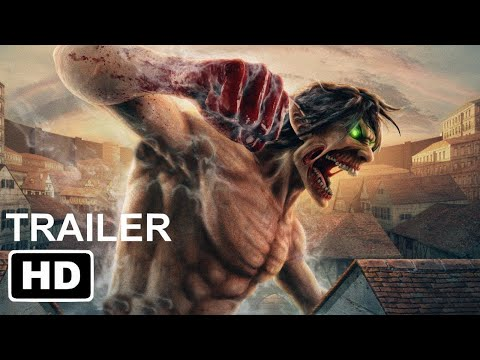 """Attack On Titan: The Movie (2022) Live Action   Wit Studio """"Concept"""""""