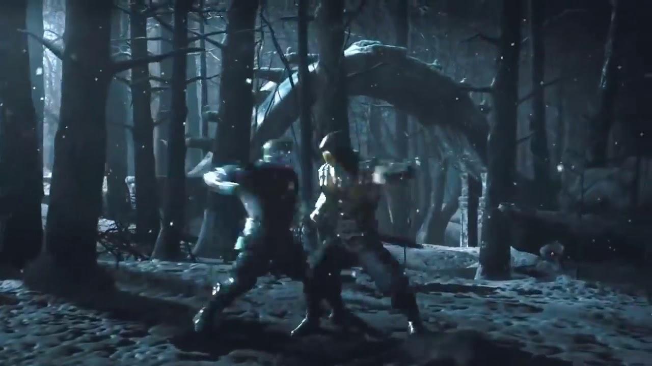 Scorpion vs Sub Zero MKX - YouTube