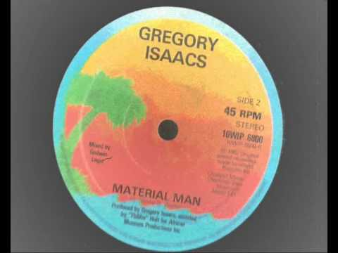 Gregory Isaacs - Material Man + Dub 10 inch island records