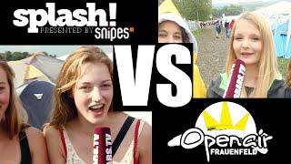 Besucherbattle: splash! vs Openair Frauenfeld (16BARS.TV)