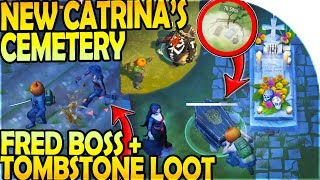 NEW CATRINA'S CEMETERY + FRED BOSS + TOMBSTONE LOOT - Last Day on Earth Survival Update 1.10