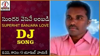 Superhit Banjara DJ Songs | Sundara Vesane lambadi Love Song | Lalitha Audios And Videos