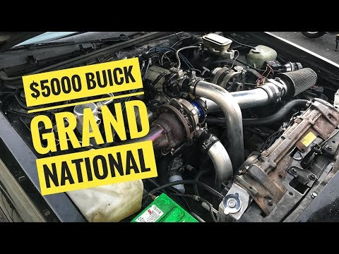 Tinkering on the $5000 Buick Grand National