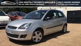 2007 FORD FIESTA 1.4 ZETEC CLIMATE FOR SALE   CAR REVIEW VLOG