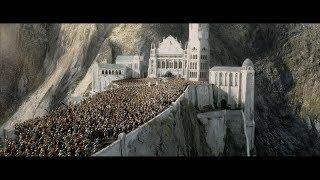 Коронация Арагорна. Благодарность хоббитам. HD