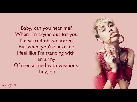 Miley Cyrus - Adore You (Lyrics) 🎵