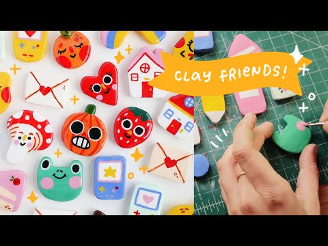 How I Make Clay Pins ☆
