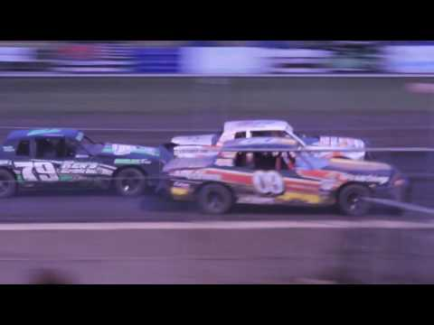 IMCA Hobby Stock Feature from Benton County Speedway on May 15th, 2016