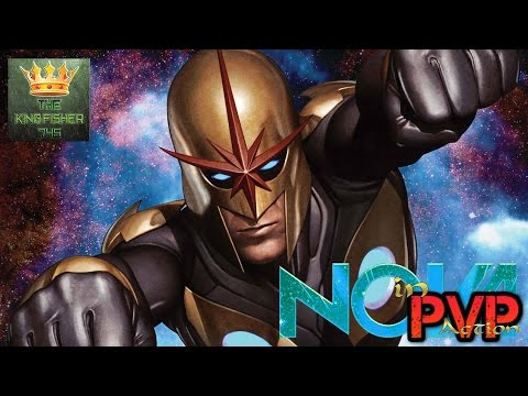 Marvel Avengers Alliance: Nova's First Look In PvP Action