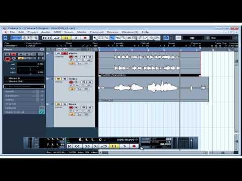 Download Cubase 5 Tutorial - Lesson 19: Basic Editing Part I