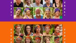Survivor 33: Millenials vs. Gen X: Elimination Order