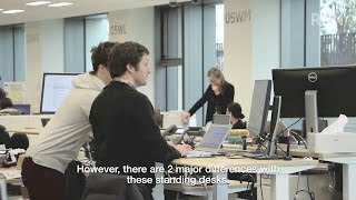 [RNN] Standing Desks Help to Raise Productivity and Promote Health
